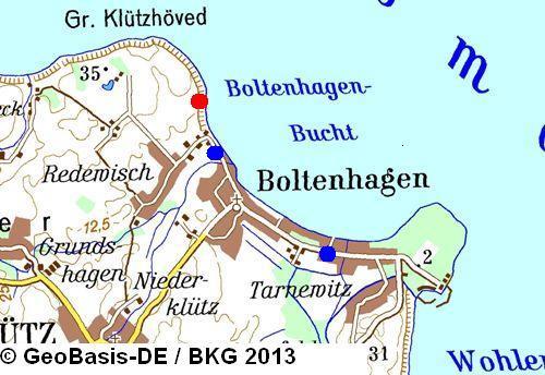 Boltenhagen Stationsinformationen Messstation Norddeutscher